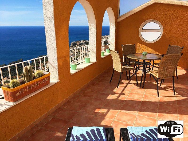 Apartment Vistamar 1 Breathtaking Sea Views - Free Wifi, aluguéis de temporada em Moraira