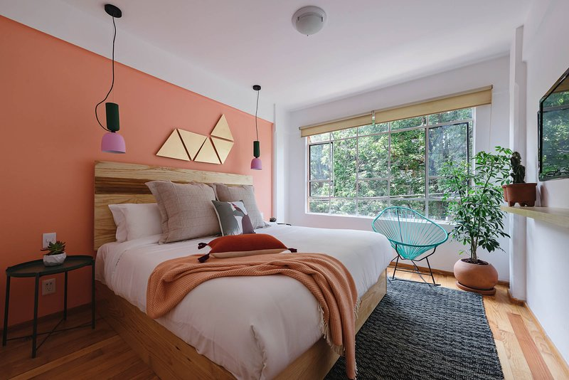 Cozy and lovely 2br apt in the heart of Condesa, vacation rental in Mexico City