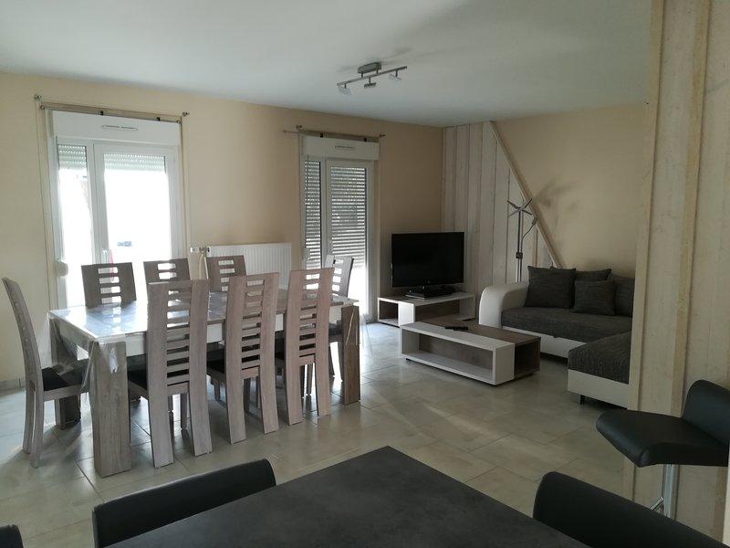 Gîte spacieux Aub'Ptit Confort refait entièrement à neuf, casa vacanza a Puellemontier