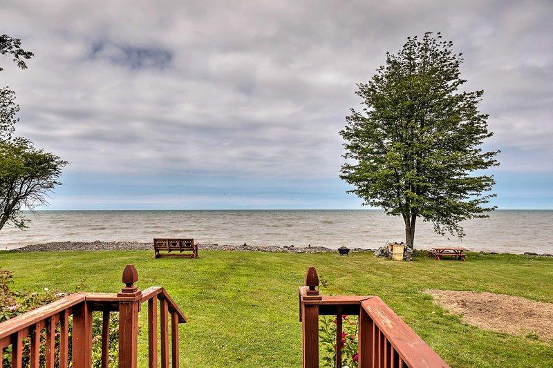Spazieren Sie am Ufer des Ontario-Sees entlang - genau hier in Ihrem Garten!