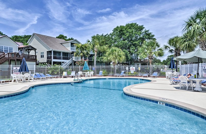 Cool off in the community pool at this 3-bedroom, 2-bath condo!