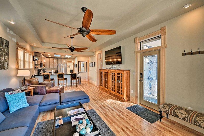 Questa casa vanta splendidi interni con tutti i comfort necessari!