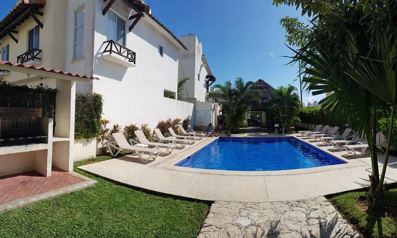 Vacation Rental House for 8 people in Playa del Carmen, holiday rental in Solidaridad