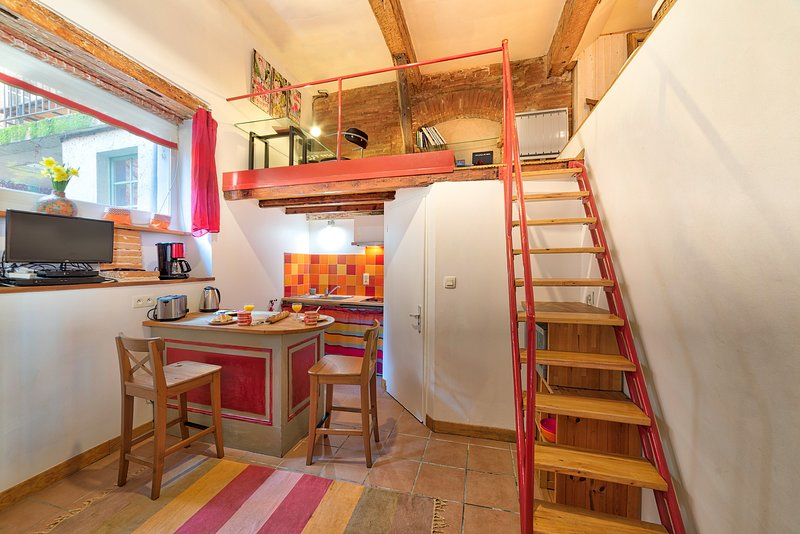 NAZARETH Duplex Hyper Centre (CARMES), vacation rental in Toulouse