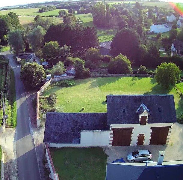 Le Chai de la Croix St Etienne, location de vacances à Neuvy-sur-Barangeon