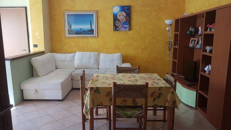 Beautiful apartment with garden, holiday rental in Poggio Torriana