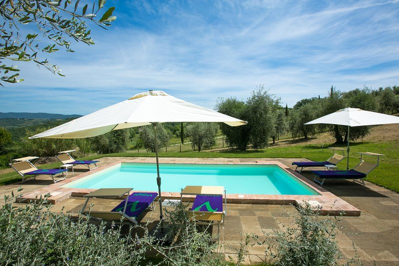 Giove Villa Sleeps 8 with Pool Air Con and WiFi - 5604874, vacation rental in Penna in Teverina