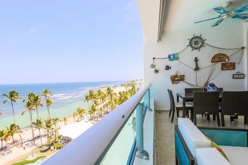 ★Beachfront Apt W/ Wifi, Pool +Lounging Furniture, holiday rental in San Pedro de Macoris