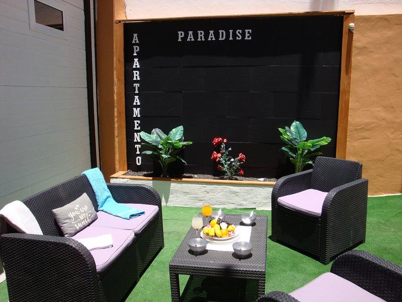 'PARADISE APARTMENT'  1 MINUTE TO THE BEACH 'Wifi Free,Tv satélite., holiday rental in Fuerteventura