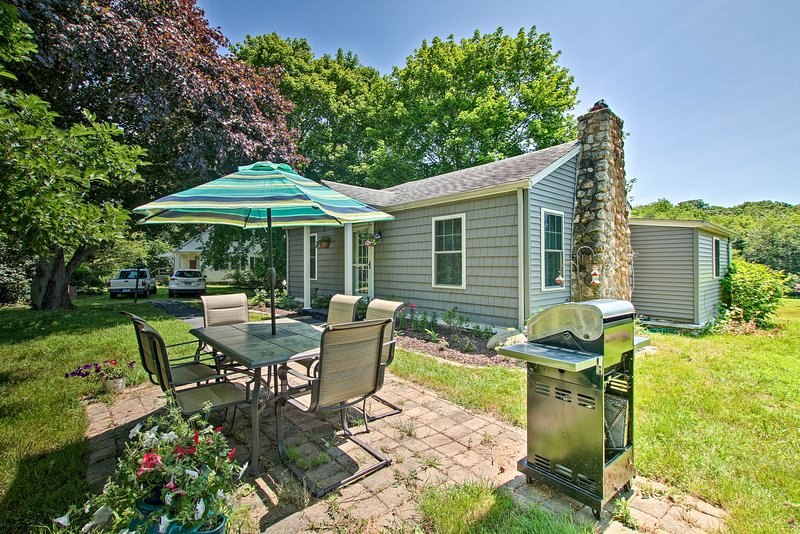Find outdoor spaces and thoughtful updates inside this 3-bedroom, 1-bath home.