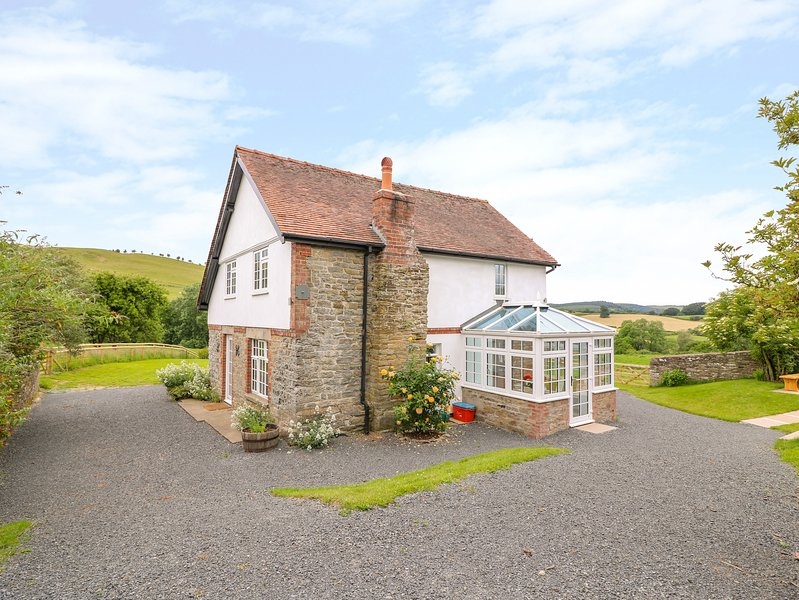 Upper Pitts Farm, Knighton, casa vacanza a Adforton