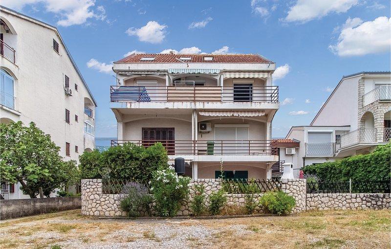 Beautiful apartment in Jadranovo with 1 Bedrooms (CKA258), holiday rental in Jadranovo
