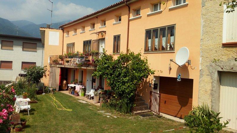 Residenza turistica a Quero per visitare Cortina e Venezia, Valdobbiadene, vacation rental in Segusino