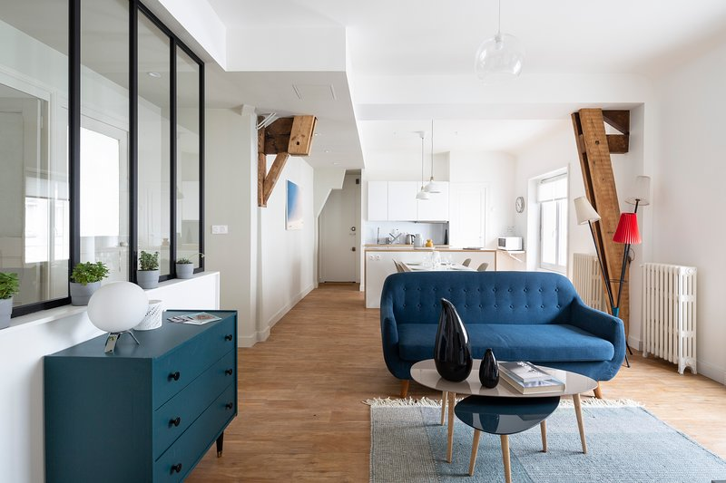 Harmonie - Magnifique appartement proche Cité des Congrès, holiday rental in Bouguenais