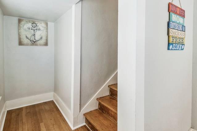 Interior stairwell access