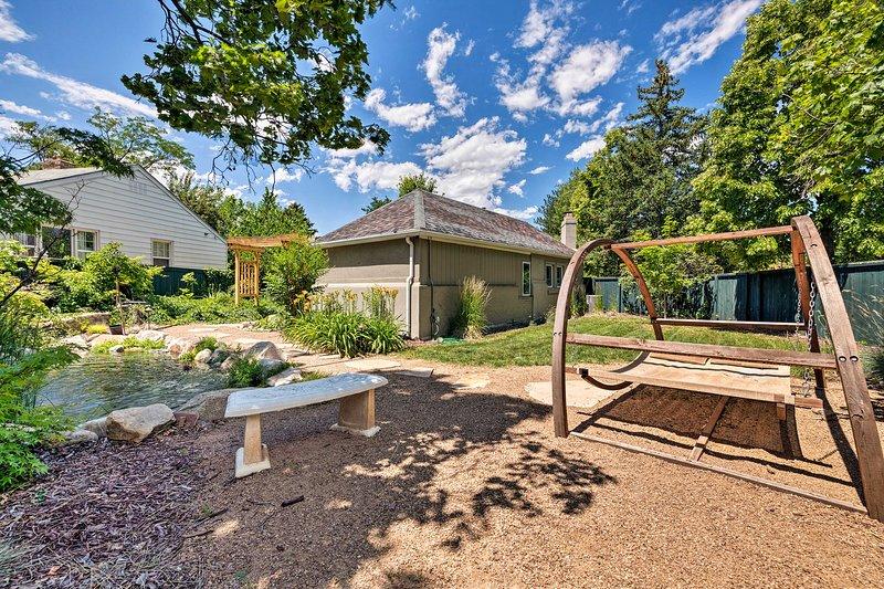 ¡El patio trasero fue construido para entretener!