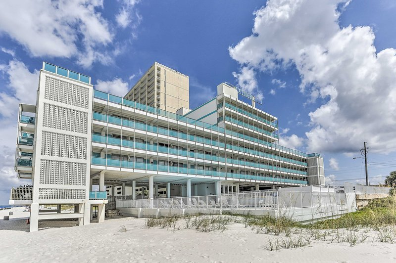 Step out to the beach from this oceanfront complex!
