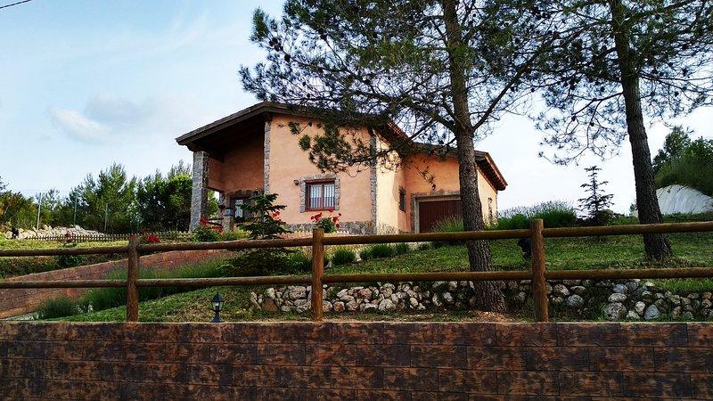 Ispirata alle case dei Pirenei, la mia casa, con il suo tetto in legno, attirerà la tua attenzione