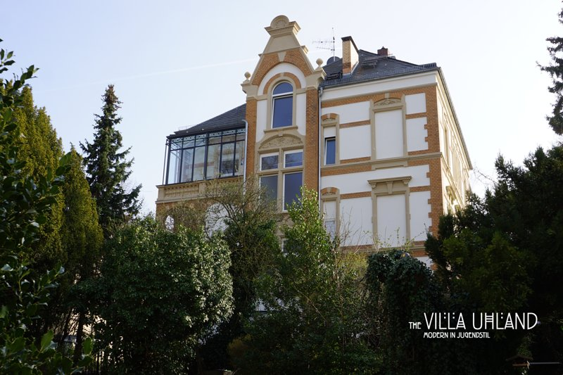 Villa Uhland - Modern in Jugendstil, holiday rental in Hofheim am Taunus