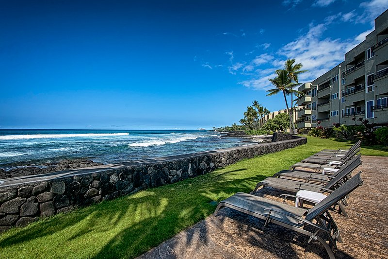 Relax on one of our lounge chairs to an unobstructed view!