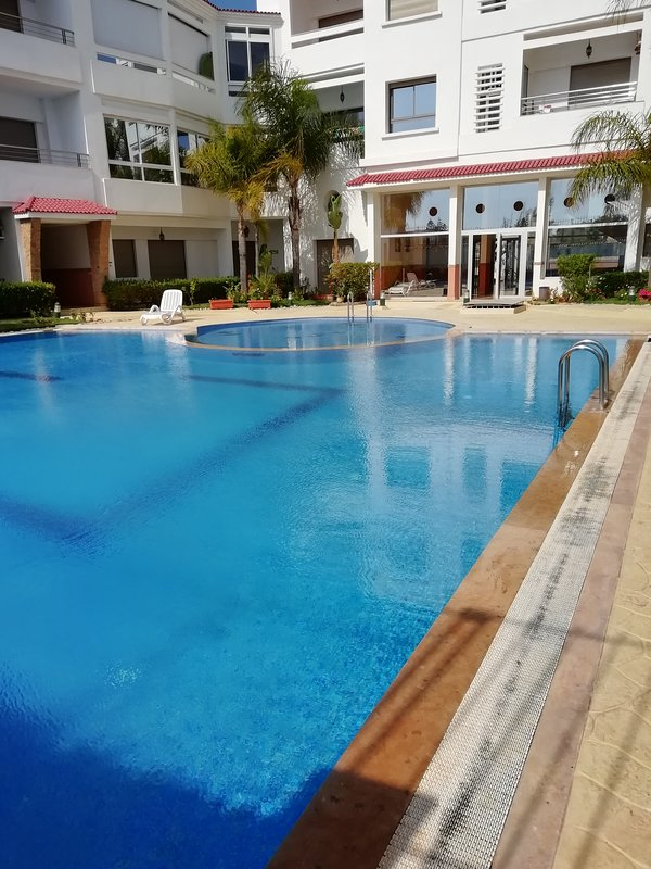 Pool or beach is as you want in this beautiful apartment in Skhirat beach / Rabat / Morocco