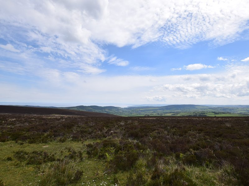 Surrounded by Exmoor National Park for keen walkers