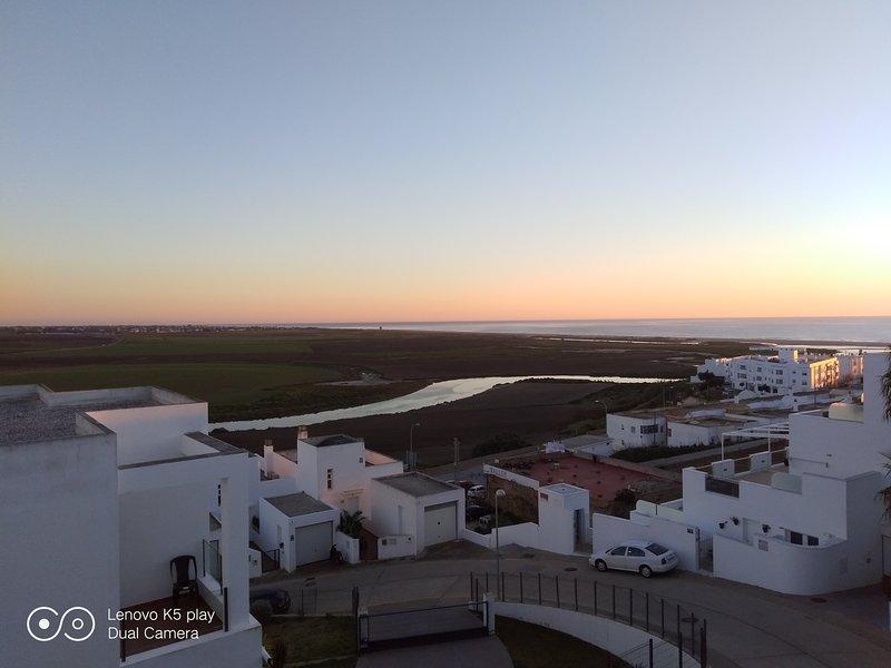 Dawn in Conil.