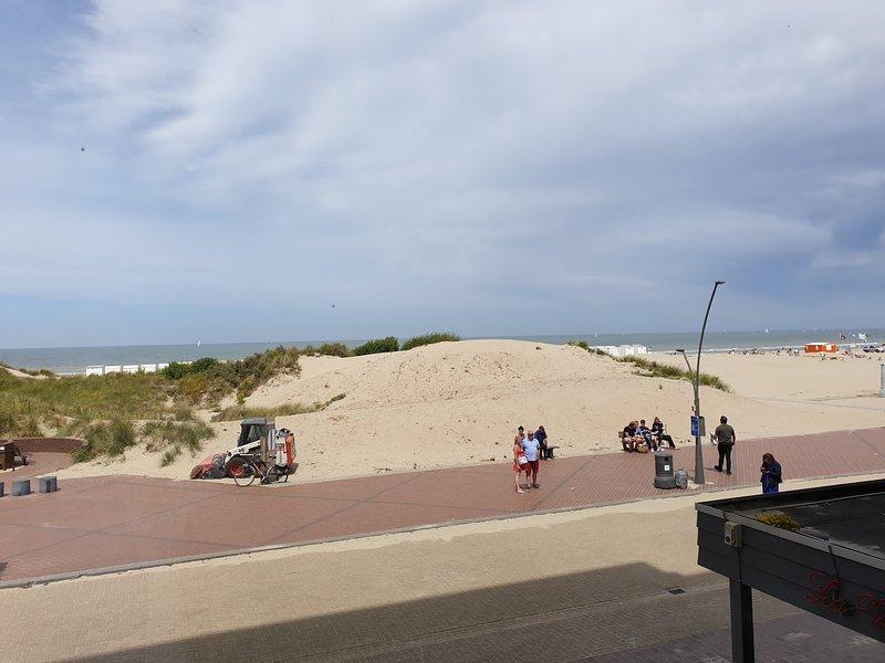 Appartment with seaside view at Oostduinkerke, location de vacances à Nieuwpoort