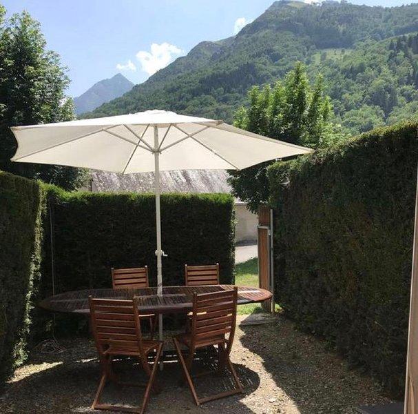 Nuestro jardin privado