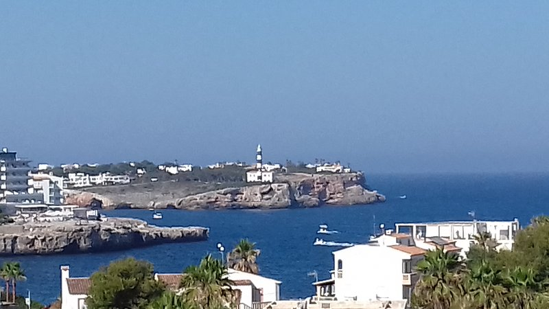 Beautiful spacious Penthouse apartment with Sea Views close to the beach, holiday rental in Cala Marcal