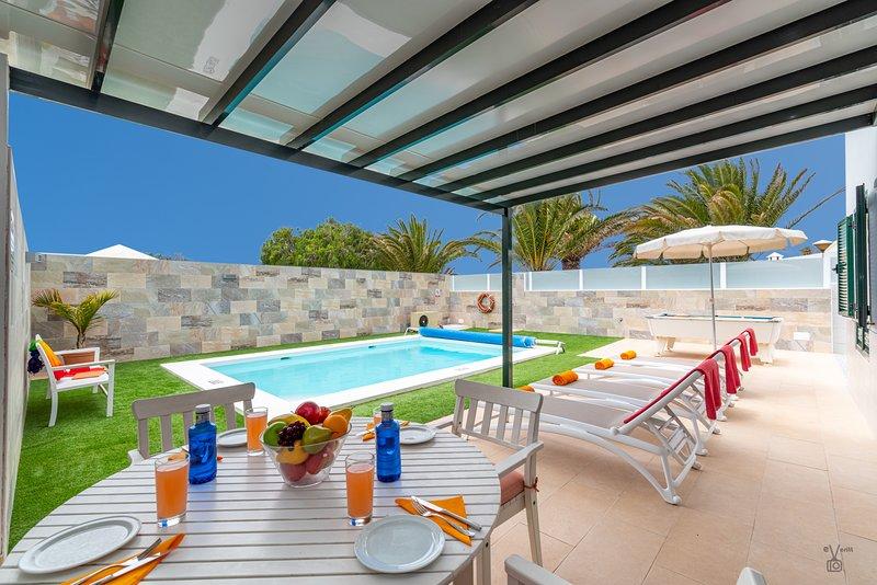 Villa Atlantico, alquiler de vacaciones en Lanzarote