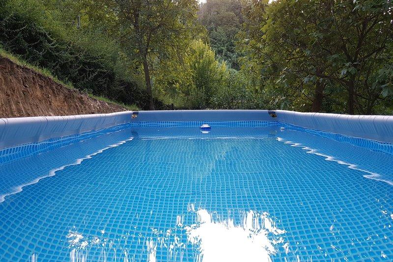 Het buiten privé zwembad van La Nina