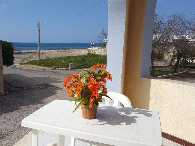 Bilocale La Caletta, alquiler de vacaciones en Marina di Mancaversa
