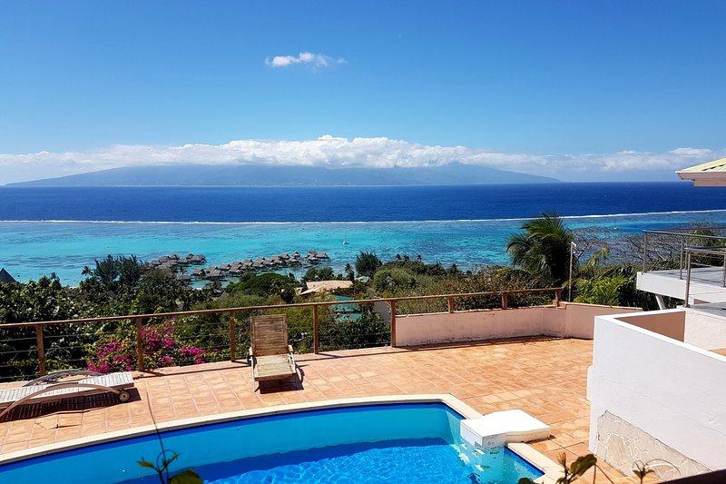 Villa Blue Lagoon, vacation rental in Temae