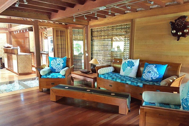 Fare Makana, vacation rental in Temae