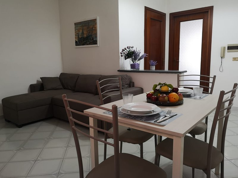 Beautiful apartment with balcony, vacation rental in Meta