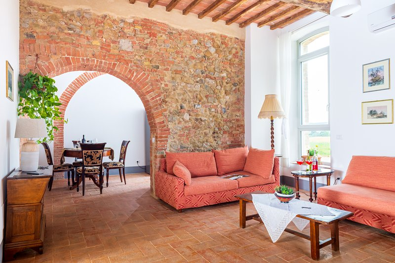 ☀︎ The Tuscan arches - with 3 garden accesses!, Ferienwohnung in Bagnaia