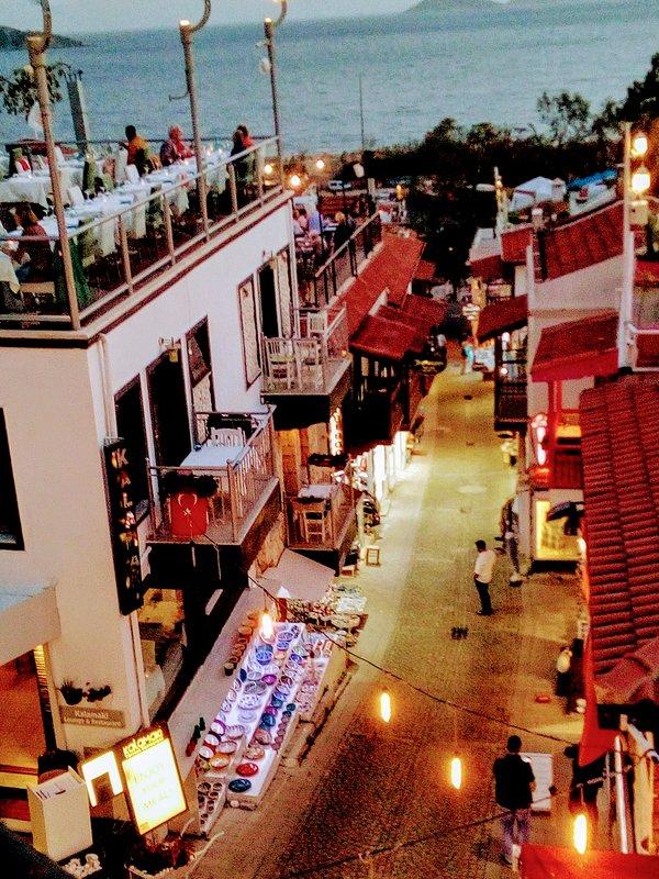 The quaint streets of Kalkan