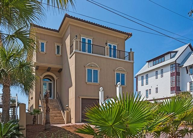 Gulf Paradise is a Two Story Beach Front Home