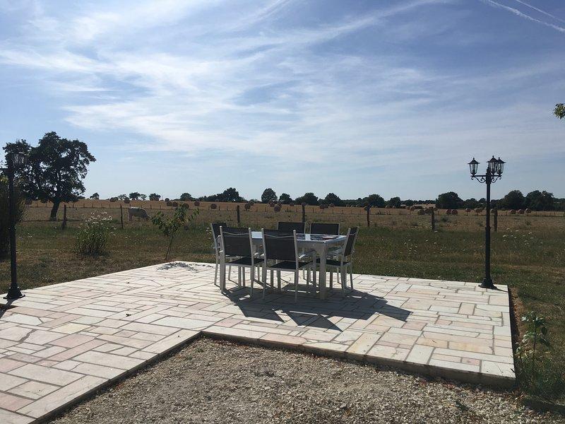 Gîte à l'orée de Grandchamp, au calme entre Charny et Toucy., holiday rental in Villiers-sur-Tholon