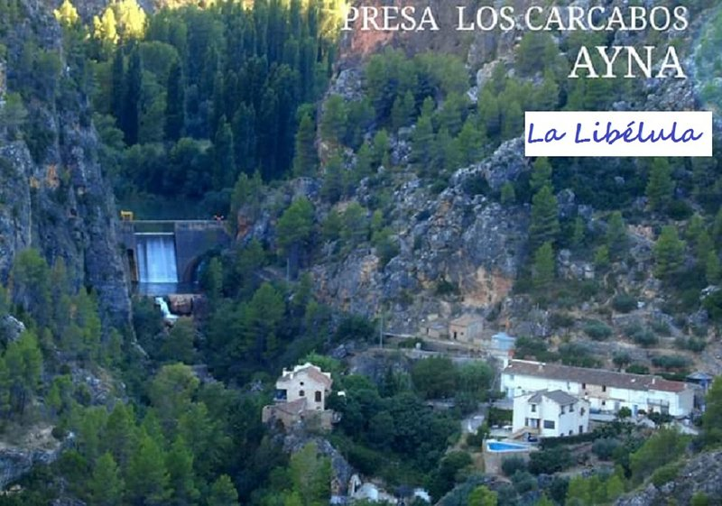 Casa en Cárcavos aldea de Ayna Albacete en Río mundo, holiday rental in Elche de la Sierra
