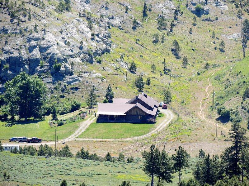 Lodge aus dem Westen