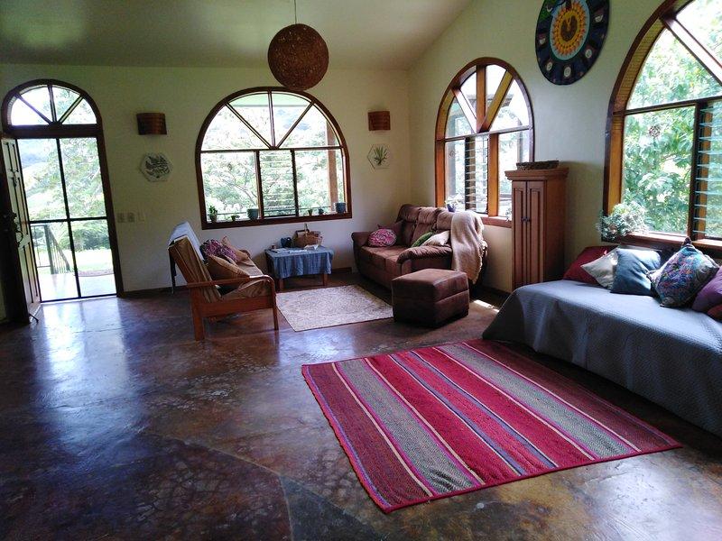Casa Ceiba vardagsrum