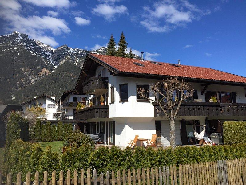"Ferienwohnung ""Talstation"", holiday rental in Farchant"