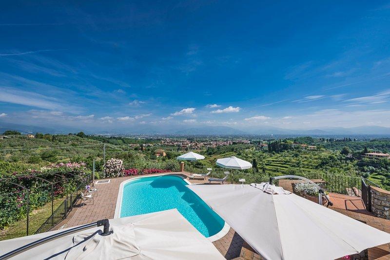 Cantagrillo-Casalguidi Villa Sleeps 8 with Pool and Air Con - 5809954, holiday rental in Casalguidi