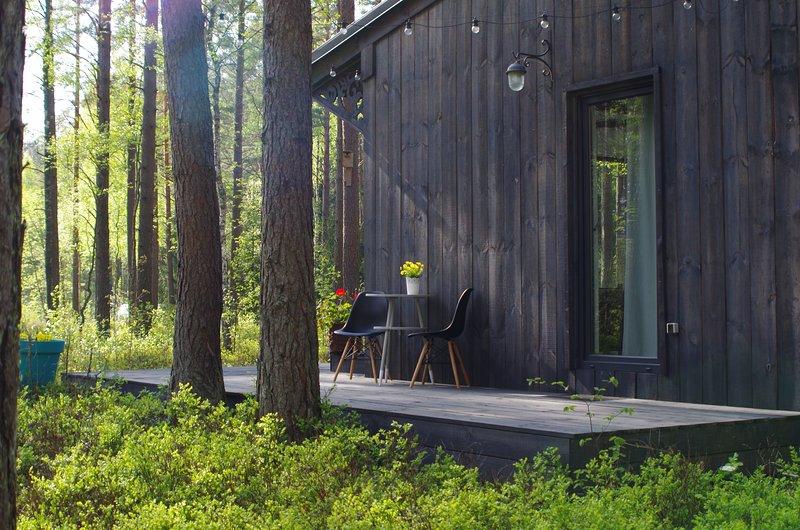 Rabarberi LV #R1 - Forest like Feeling, alquiler de vacaciones en Letonia