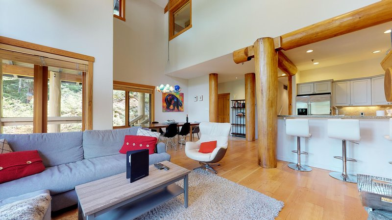 Beautifully renovated town home with vaulted ceilings