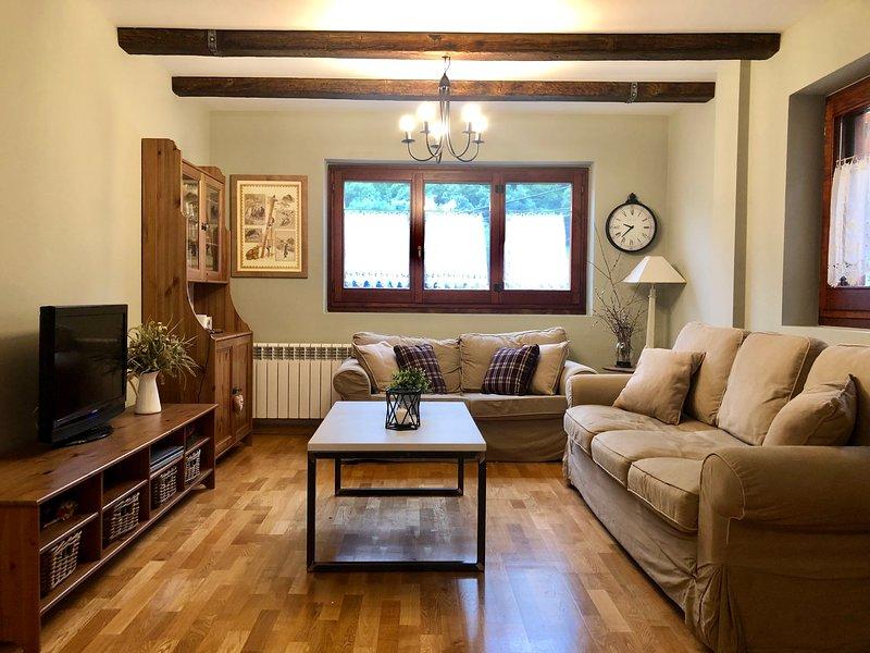 Acogedor apartamento en el corazón del Valle de Arán, alquiler vacacional en Las Bordas