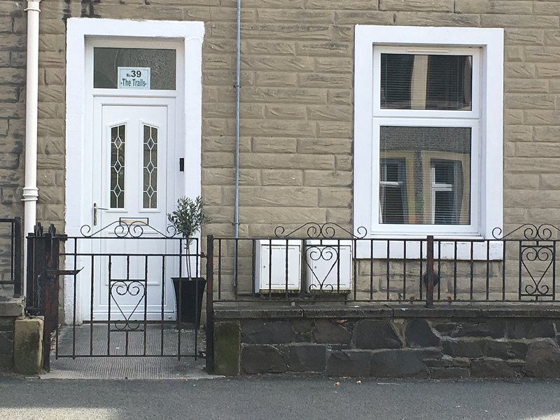 spacious ground floor flat, with large secure bike/equipment storage and on street parking