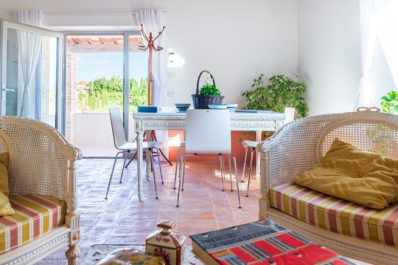 ★ Nature and relax with style - private terrace, Ferienwohnung in Bagnaia